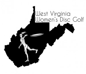 West Virginia Women's Disc Golf logo