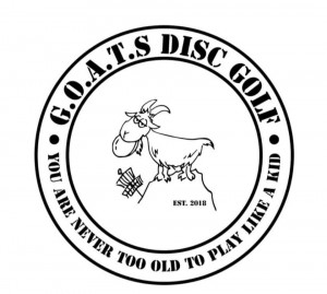 G.O.A.T.S. Disc Golf logo