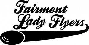 Fairmont Lady Flyers Disc Golf Club logo