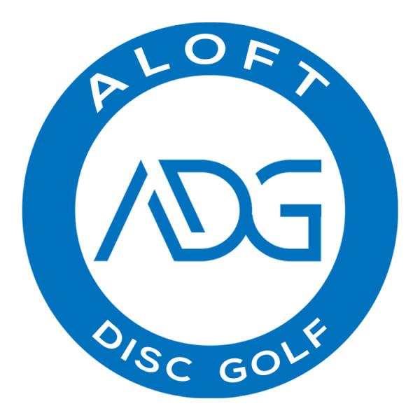 Aloft Disc Golf logo