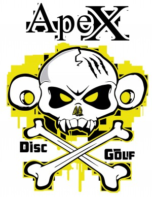 ApeX Disc Golf logo