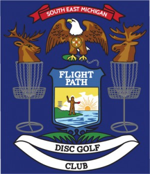 Flight Path Disc Golf logo