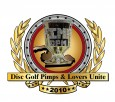 Disc Golf Pimps & Lovers Unite logo