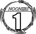 """NOONERS"" logo"