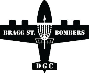 Bragg Street Bombers Disc Golf Club logo
