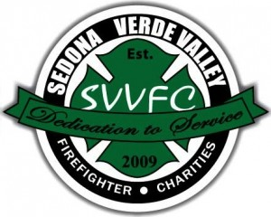 Sedona- Verde Valley Firefighter Charities logo