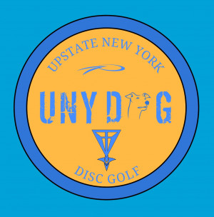 UNYDoG (Upstate New York Disc Golf) logo