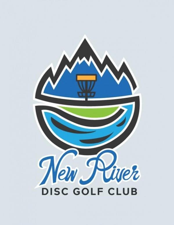 New River Disc Golf Club logo