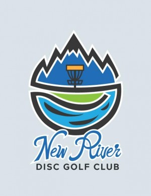 New River Disc Golf Club logo
