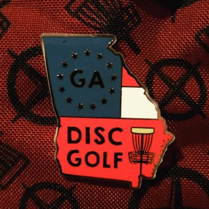 """Disc Golf of Georgia"" logo"
