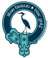 Blue Heron Disc Golf Association logo
