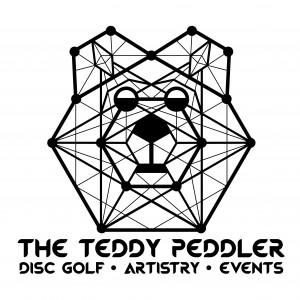 The Teddy Peddler: Disc Golf Artistry & Events logo
