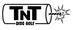 T-N-T Disc Golf logo