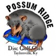Possum Ridge Disc Golf Club logo