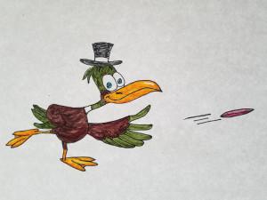 Dirty Birdie Disc Golf logo