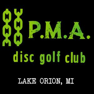 P.M.A. Disc Golf Club logo
