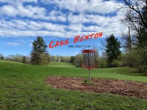 Cass Benton Disc Golf Club logo