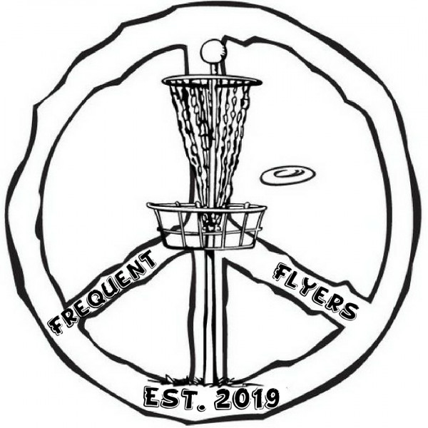 Frequent Flyers Disc Golf Club logo