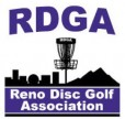 Reno Disc Golf Association logo
