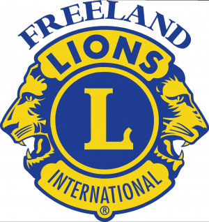 Freeland Lions Club logo