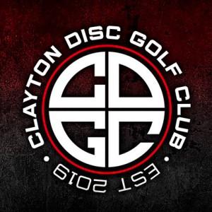 Clayton Disc Golf Club (CDGC) logo