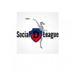 Social D Disc Golf logo