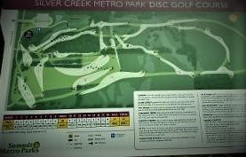 Silver Creek Disc Golf Association logo
