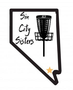 Sin City Sisters Disc Golf League logo