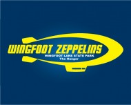 Wingfoot Zeppelins - A Disc Golf Society logo