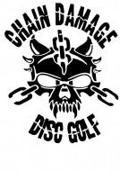 Chain Damage Disc Golf logo