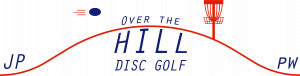 Over The Hill Disc Golf logo