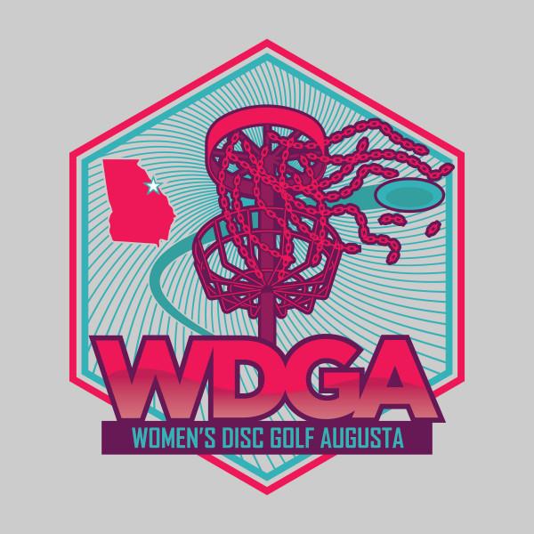 Women's Disc Golf Augusta logo