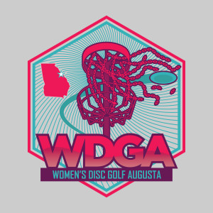 Women's Disc Golf Augusta logo