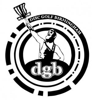 Disc Golf Birmingham (DGB) logo