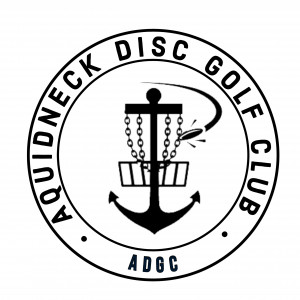 Aquidneck Disc Golf Club logo