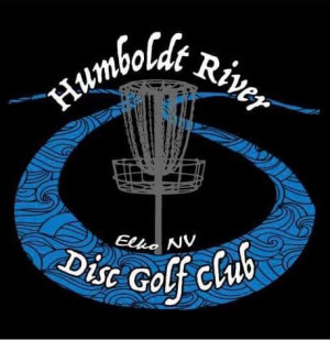 Humboldt River Disc Golf Club logo