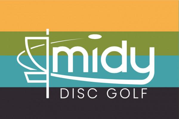 Midy Disc Golf logo