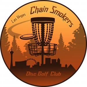 Las Vegas Chain Smokers Disc Golf Club logo