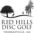 Red Hills Disc Golf logo