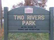 Two Rivers Disc Golf Club logo