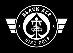 Black Ace Disc Golf logo