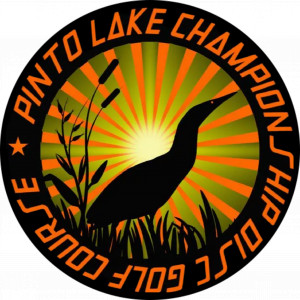Pinto Lake Championship Disc Golf Club logo