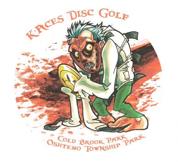 K'Aces Disc Golf logo