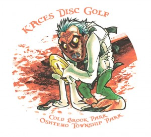 K'Aces Disc Golf logo