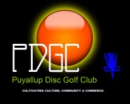 Puyallup Disc Golf Club logo