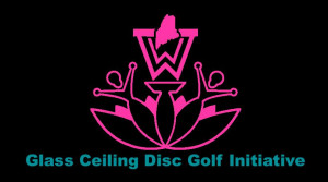 The Glass Ceiling Disc Golf Initiative logo