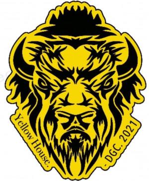 Yellow House Disc Golf Club logo