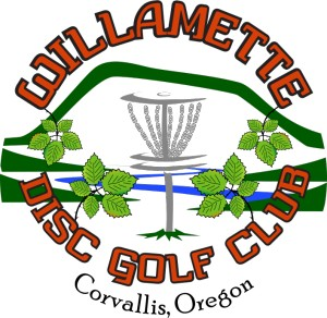 Willamette Disc Golf Club logo