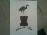 Crane Hill Disc Golf Club logo