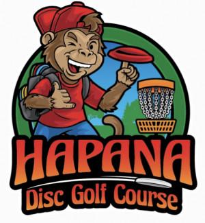 Hapana Disc Golf Course logo